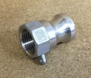 CamLock Type A Male x 1/2bsp female